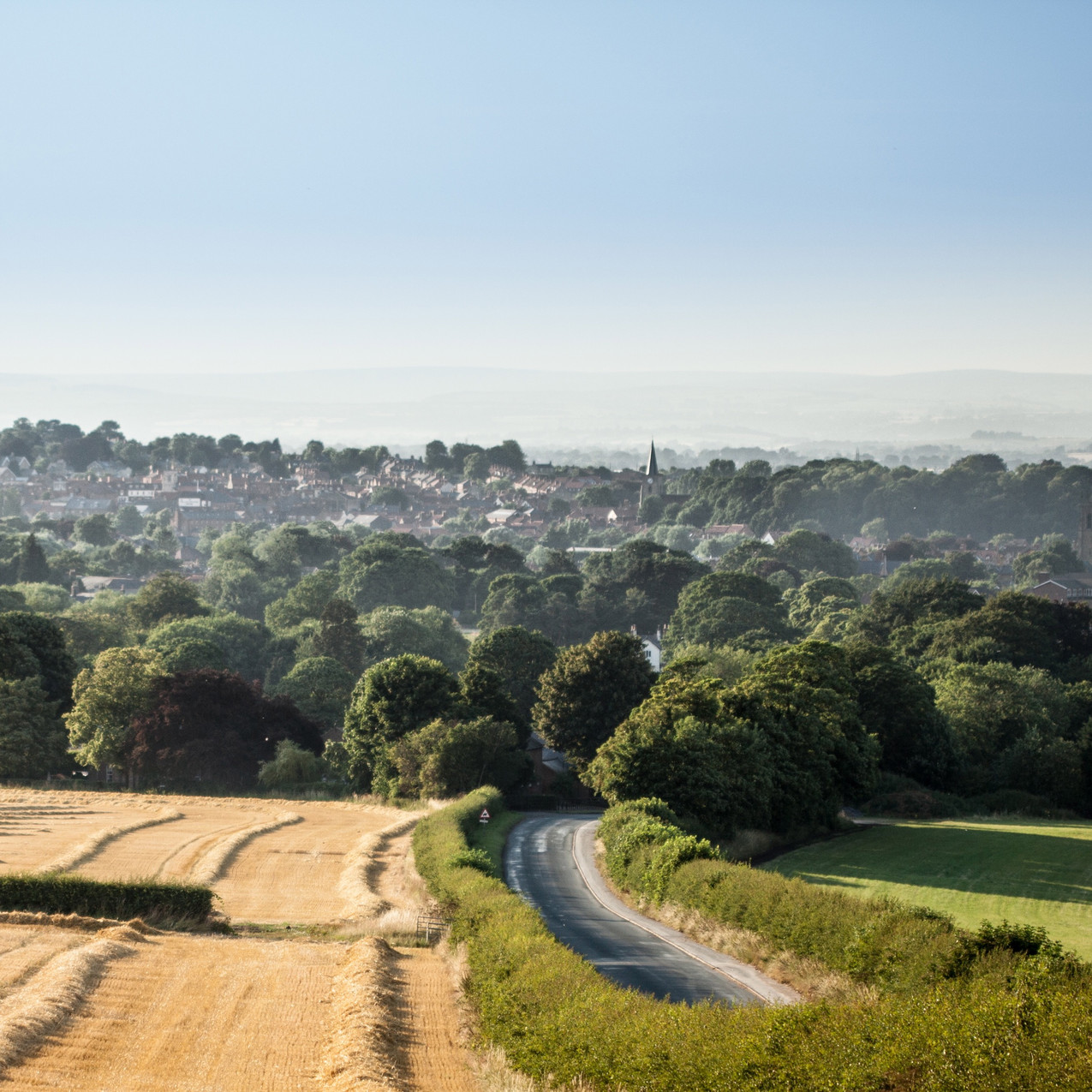 Malton Countryside View
