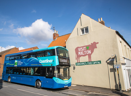 Coastliner teams up with Visit Malton to make it even easier to reach Yorkshire's Food Capital