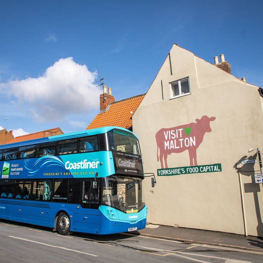 Coastliner and Visit Malton CIC