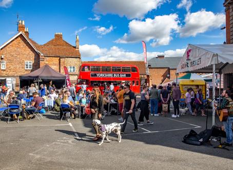 Foodie Fans Flock to Malton's Harvest Festival