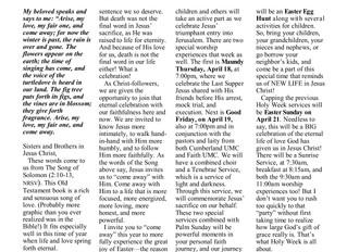 Shofar Newsletter April/May 2019