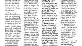 Shofar Newsletter - Sept/Oct 2020