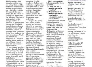 Shofar Newsletter - November/December 2017