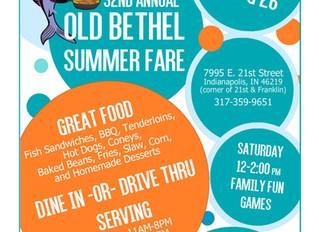 Summer Fare - August 24, 25 & 26