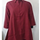 Thumbnail: Solid Color Button Down Shirt/Tunic