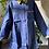Thumbnail: All Denim Tunic/Shirt Dress Trimmed w/African Print