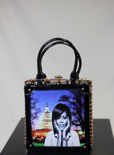 Michelle Obama Lock Box Bag
