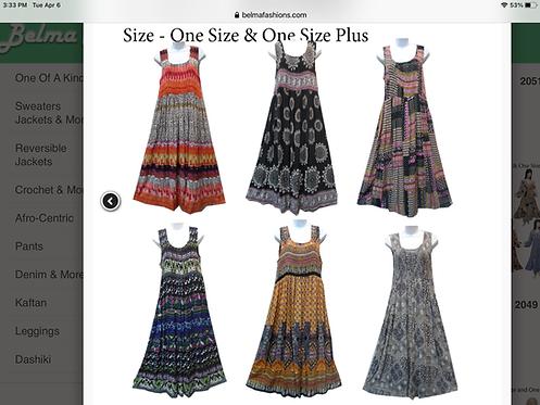 Assorted Print Maxi Sundresses