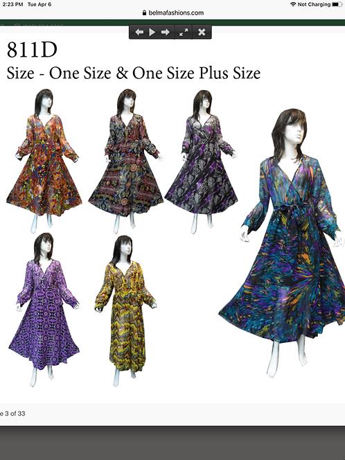 Assorted Prints Maxi Dresses