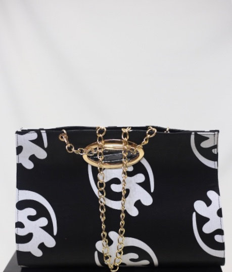 Black & White African Tote Bag