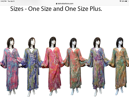 Assorted Soft Print Maxi Dresses