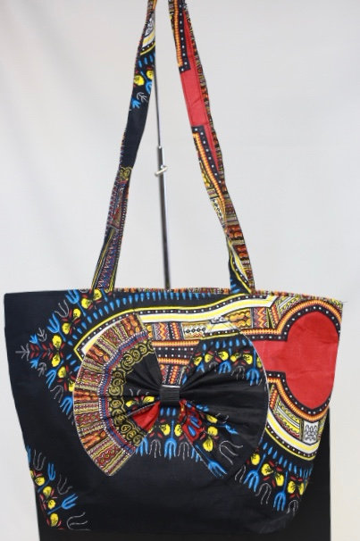 African Fashion Tote Bag