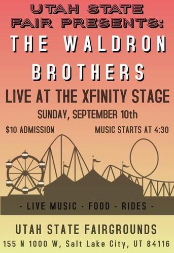 """Utah State Fair """"Xfinity Stage"""""""