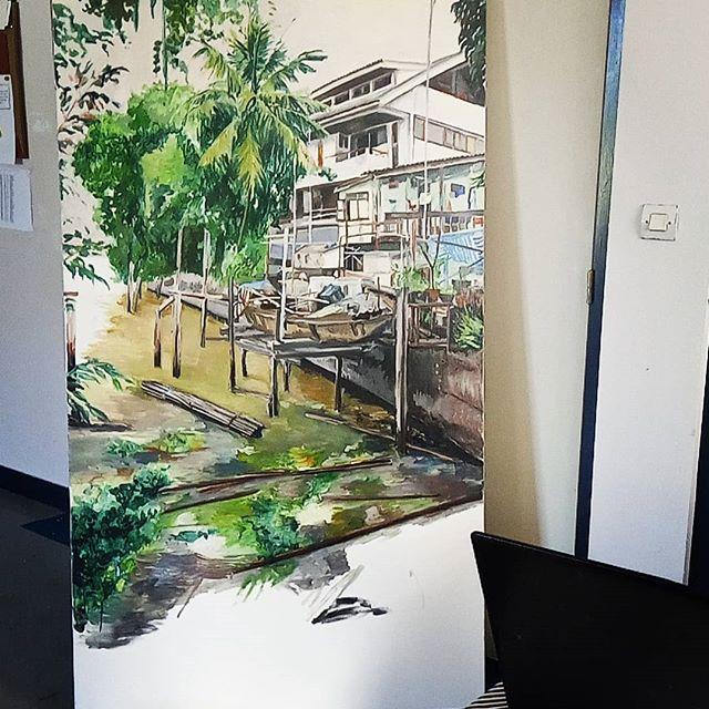 Peinture urbanisé, Bangkok