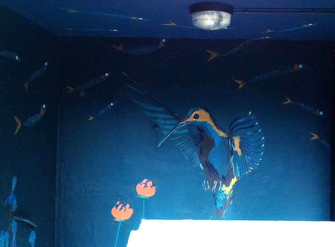 Fresque murale ty lili