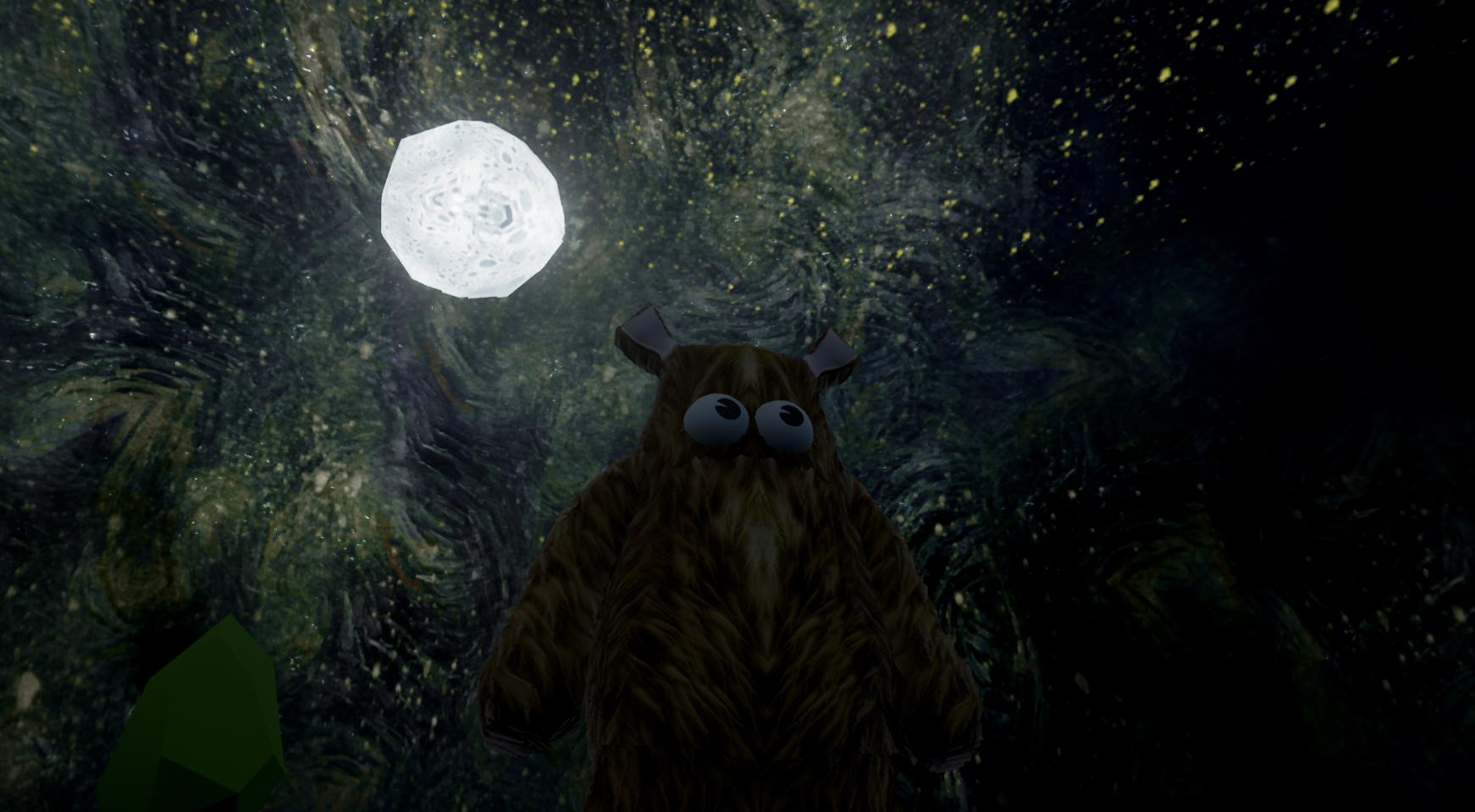 Wrongworld - Night sky