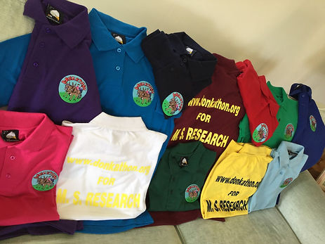 Donkathon Polo Shirts