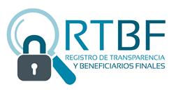 Registro de Transparencia de beneficiarios Finales (RTBF).