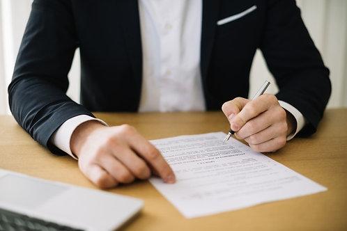 Contrato de trabajo entre personas sociedad y persona física