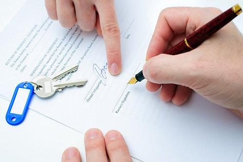 Contrato de Arrendamiento de local comercial entre sociedad y personas físicas