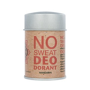 No Sweat Deodorant Mandarin