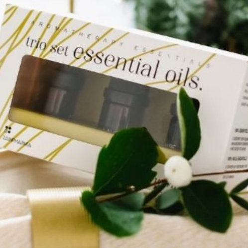 Trio essential oils cosy&warm