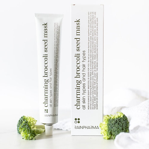 Charming broccoli seed mask
