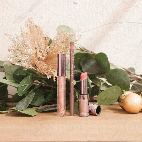 Set Lipstick, Lippencil & Lipgloss