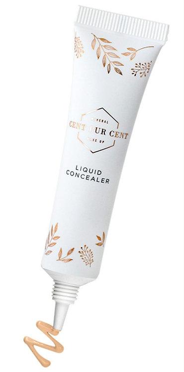 Liquid mineral concealer