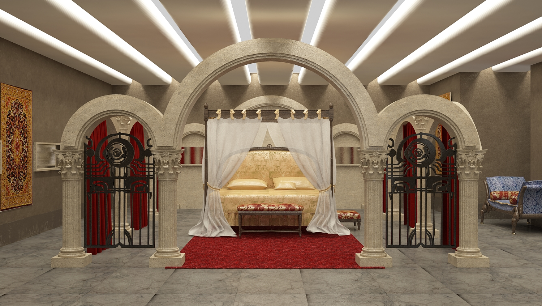 BB - Game of thrones - bedroom