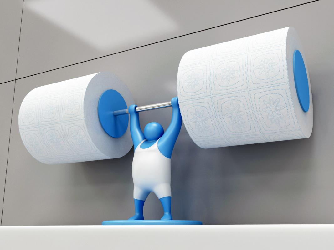 MR-T - Toilet paper holder
