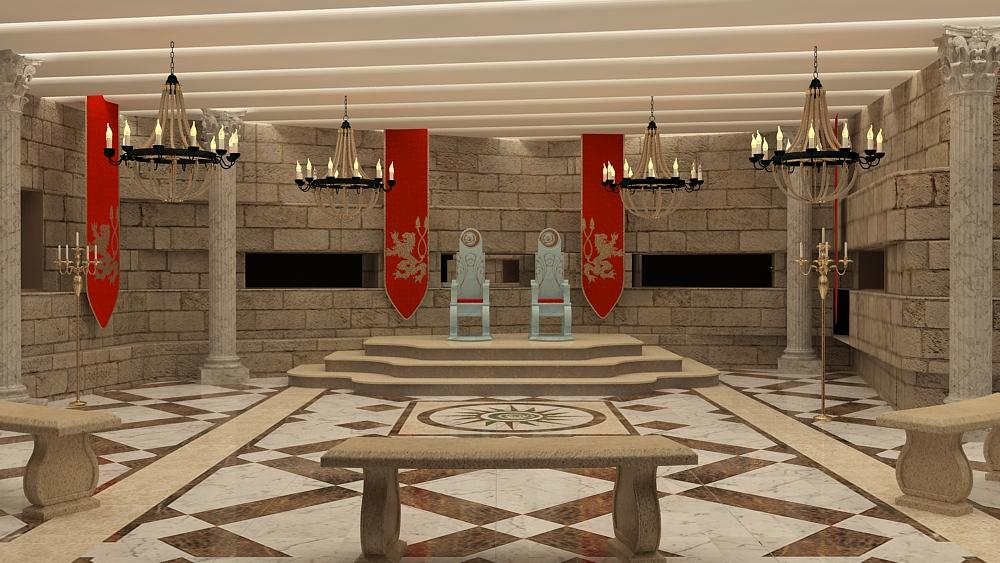 BB game of thrones - livingroom