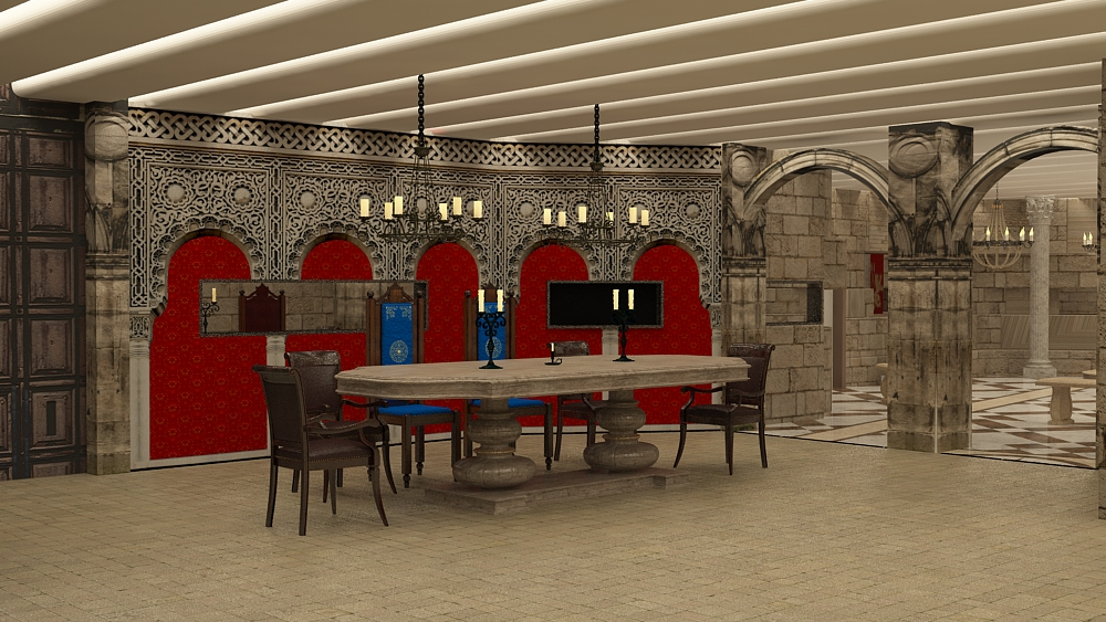 BB - Game of thrones - dining area