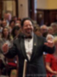 Conducting Bach's Weihnachtsoratorium for Australian Bach SocietyDecember 2016