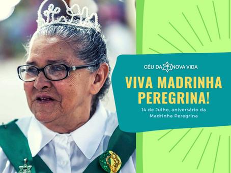 84 anos da Madrinha Peregrina Gomes Serra