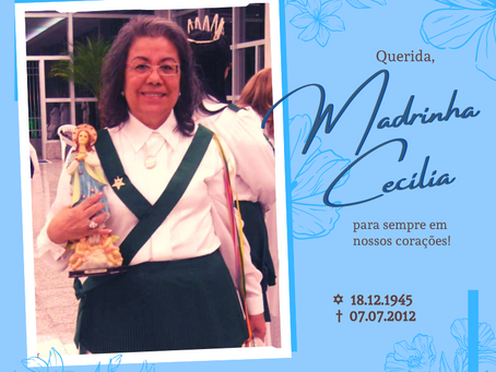 07/07 - Passagem Madrinha Cecília