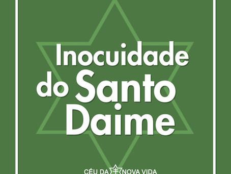 A INOCUIDADE DO SANTO DAIME