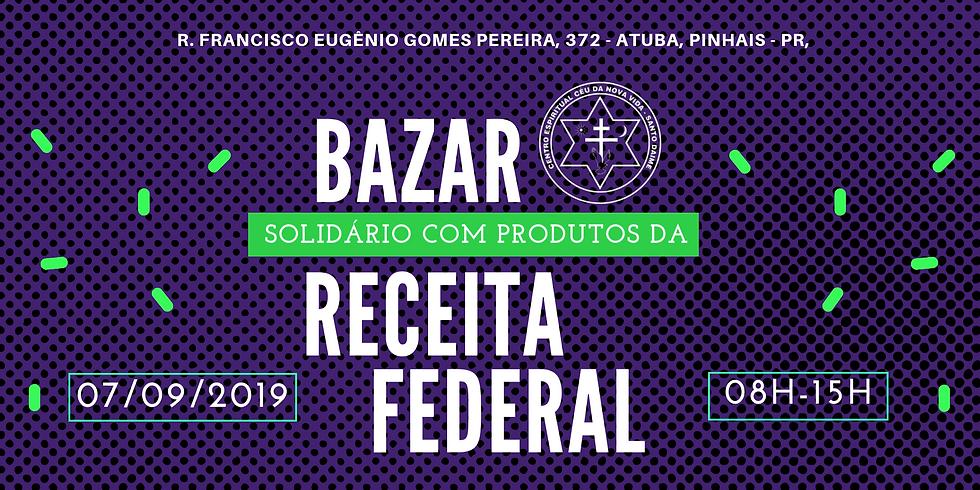 Bazar Solidário - Receita Federal