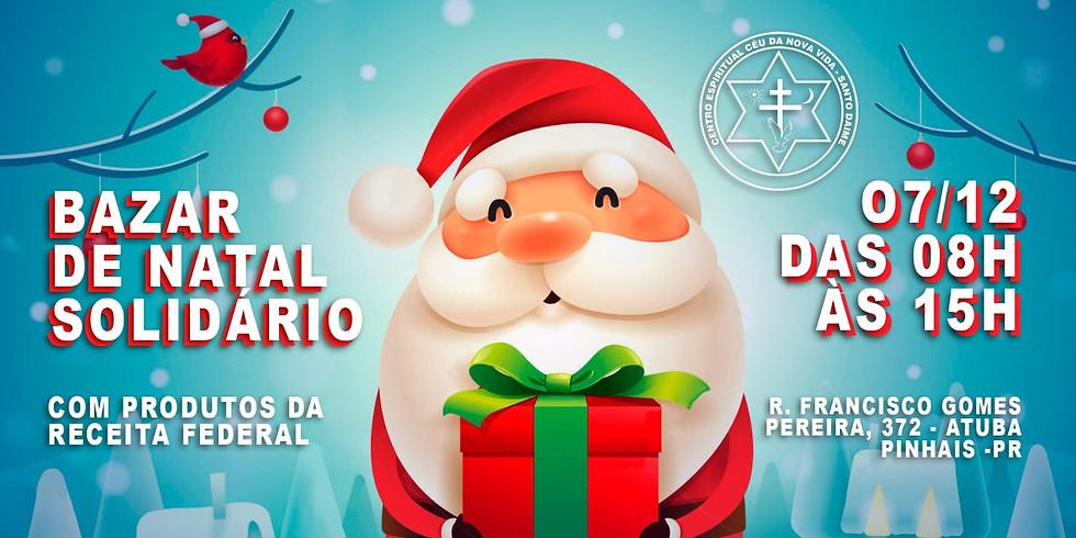 Bazar de Natal Solidário - Receita Federal