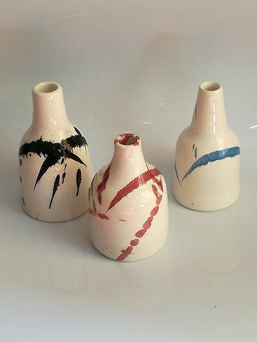 AbEx bottle vase