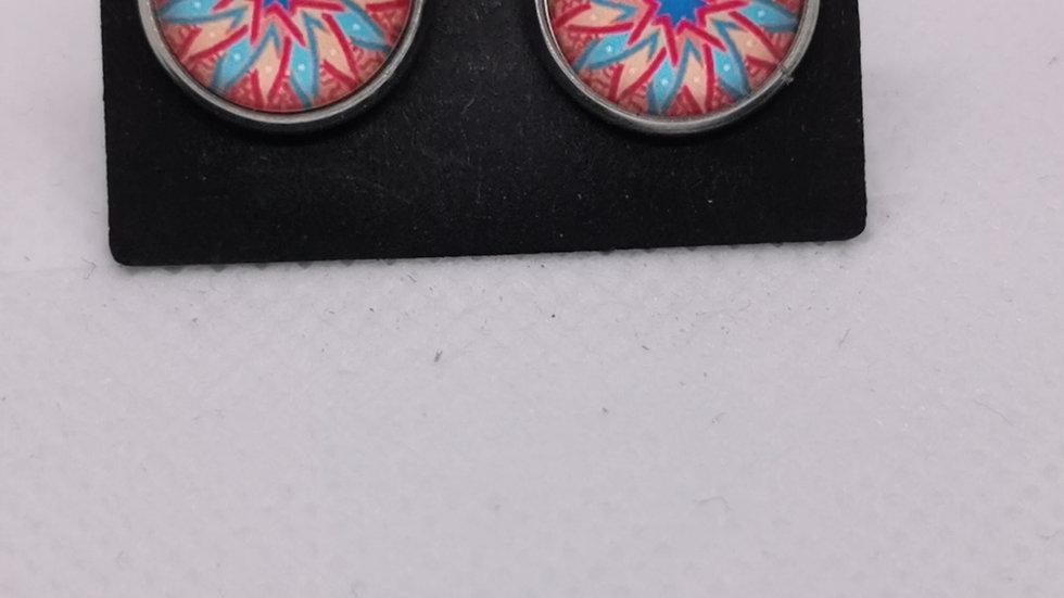 Boucle d'oreille collection Mandala