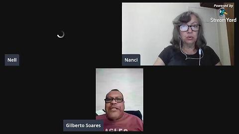 Live da equipe Leia Livros com o autor gaúcho Gilberto Manuel Soares.