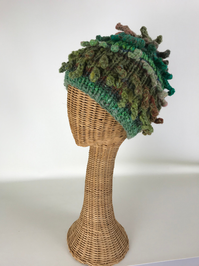 Green Crazy Hat
