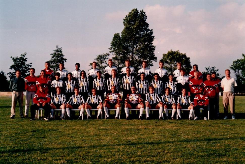 M.S.V.'71 selectie seizoen 1997 1998