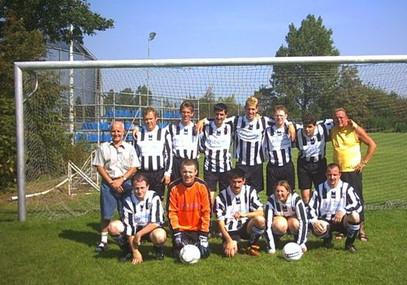 M.S.V.'71-G-team Seizoen 2004-2005