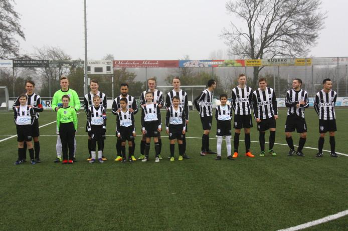 M.S.V.'71-1 seizoen 2016 2017 met jeugdteam...