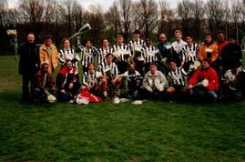 M.S.V.'71-1 seizoen 1997 1998 kampioen 5e klasse
