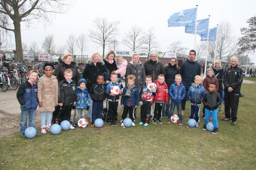 Kabouters seizoen 2014 2015 bij het schoolvoetbal