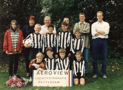 M.S.V.'71-E team uit 1995
