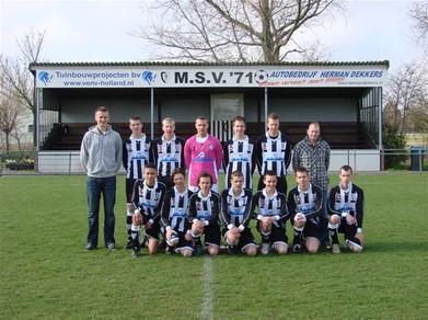 M.S.V.'71-B1 Seizoen 2009-2010